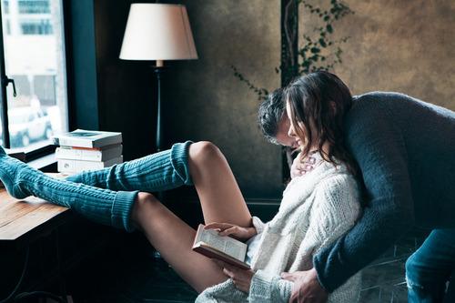 Geisha leyendo